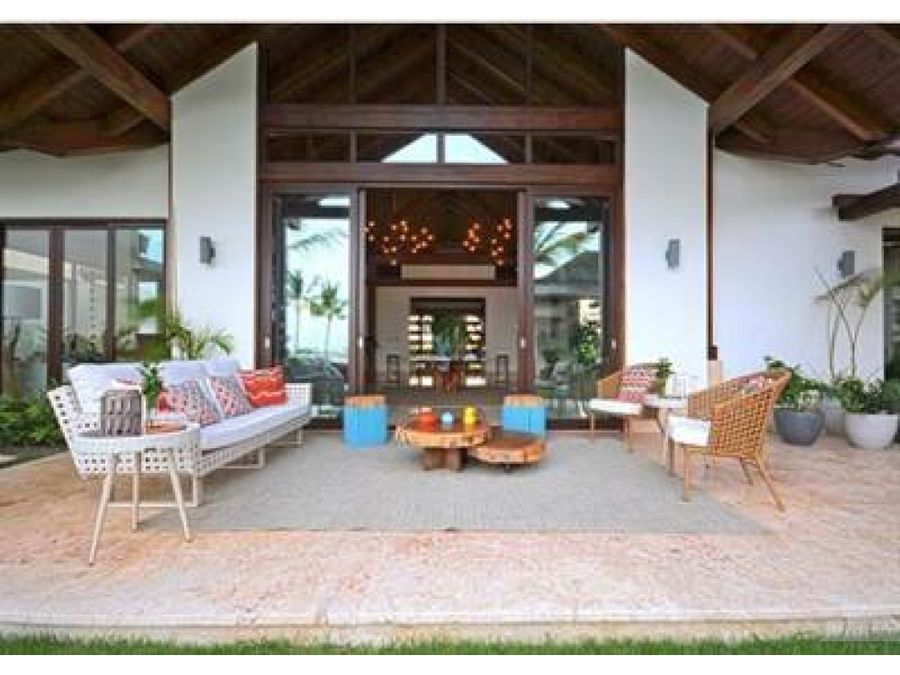 mansion con muelle privado 7 habitaciones isla cap cana punta cana
