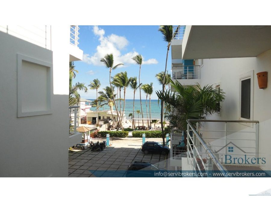 apartamento 3 hab en la playa punta cana
