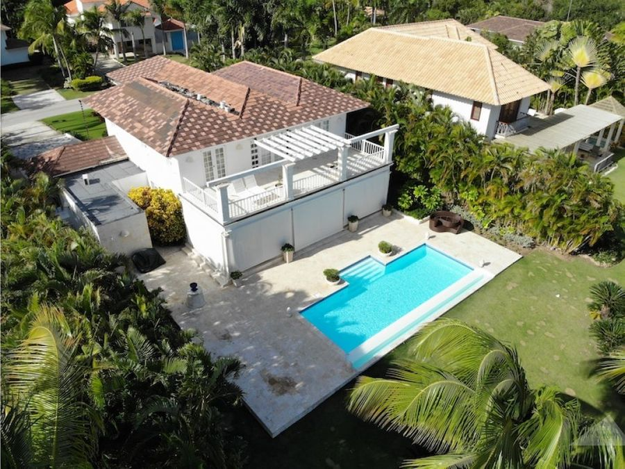 espectacular villa punta cana resort club