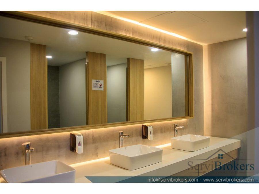 oficina alquiler 140 m2 punta cana village