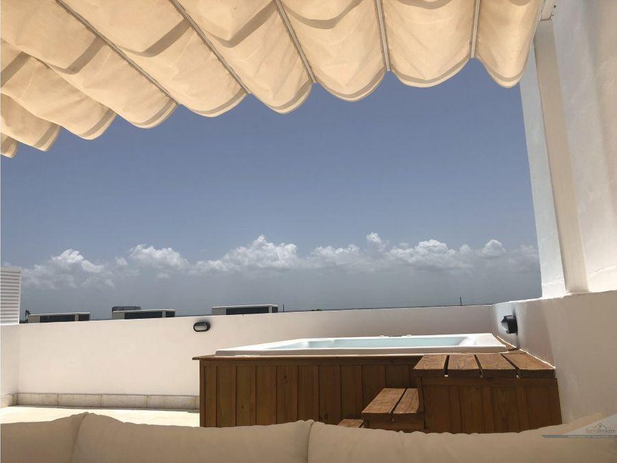 punta cana cana bay cana rock penthouse con jacuzzi