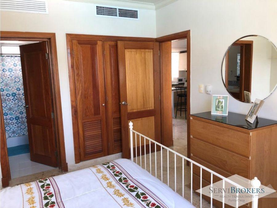 apartamento 1 hab venta y alquiler punta cana