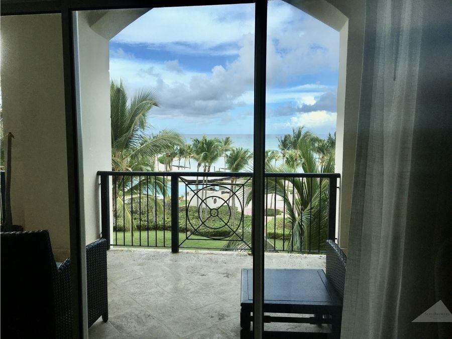 punta cana cap cana 3 hab apartamento frente del mar
