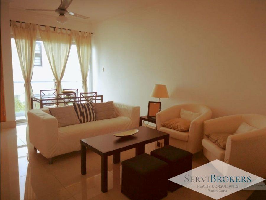 punta cana apartamento 1 habitacion 15 banos con muebles