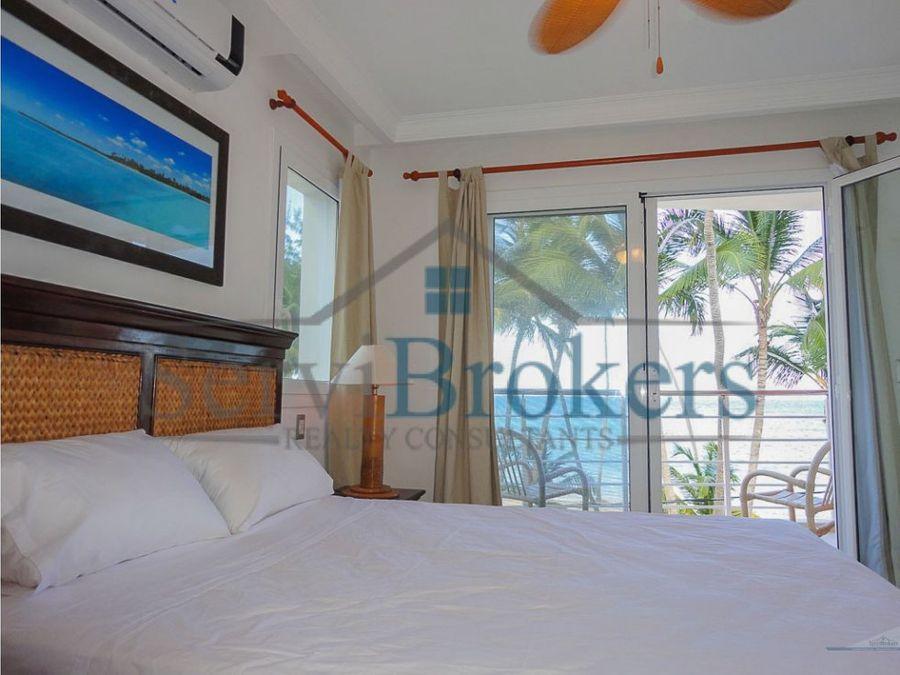 apartamento frente playa 2 hab bavaro punta cana