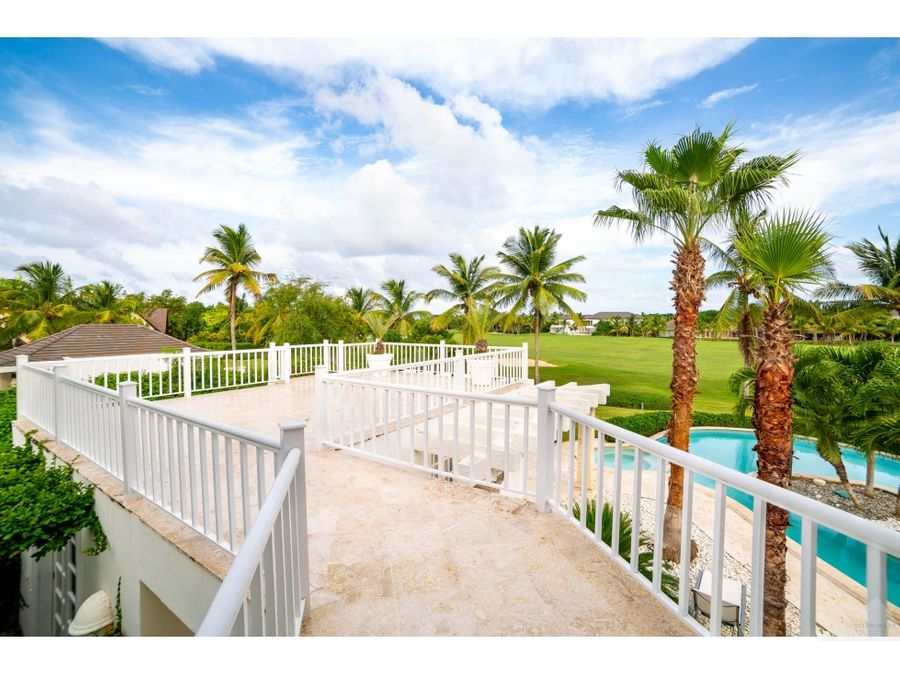 punta cana resort villa 6 habitaciones vista golf
