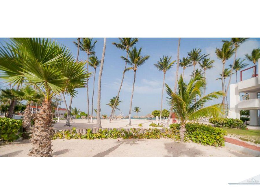 punta cana bavaro los corales 1 br condo con playa privada