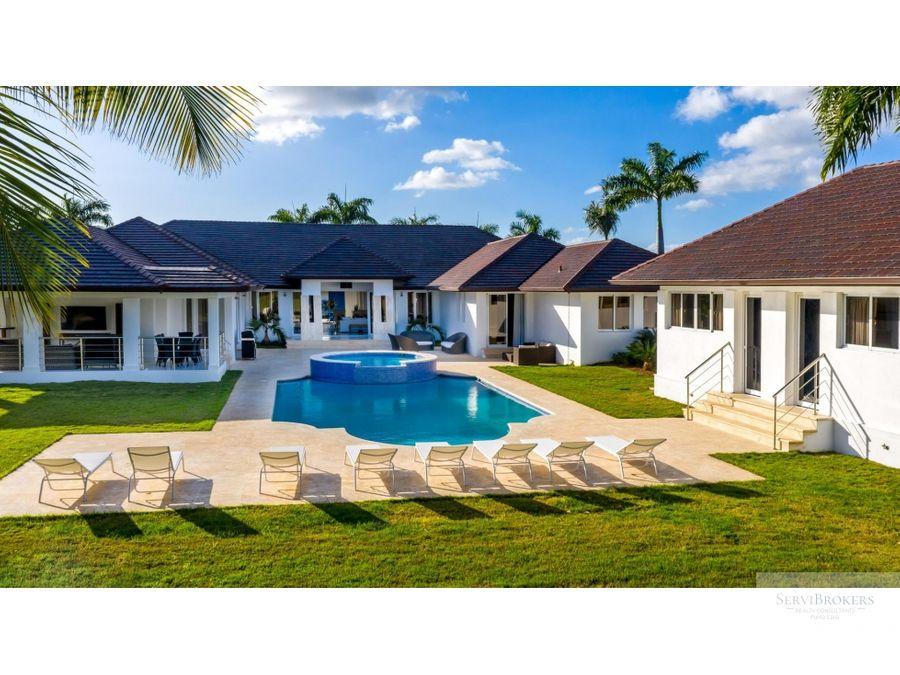 elegante villa 8 hab casa de campo