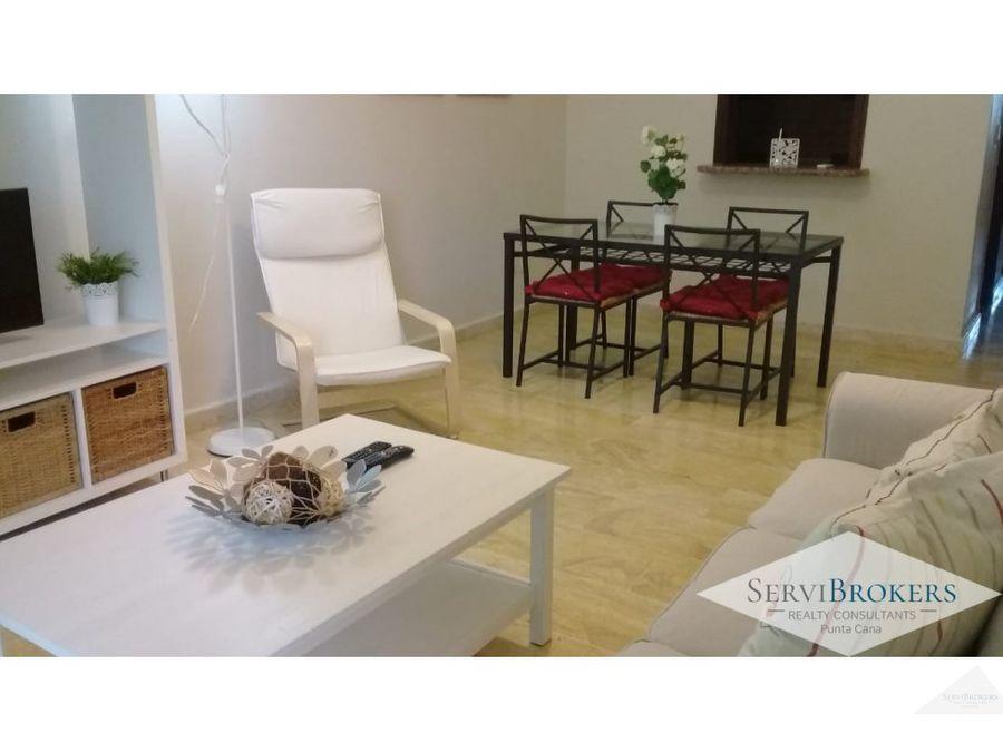 apartamento 2 hab 2 banos servicio cocotal bavaro punta cana