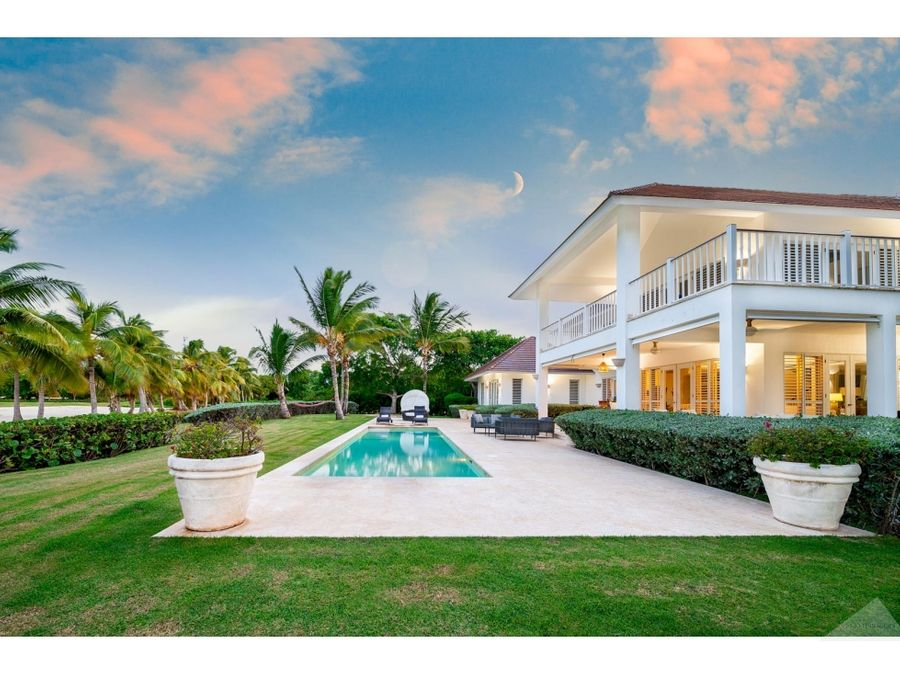 punta cana resort villa 4 habitaciones vista mar y golf