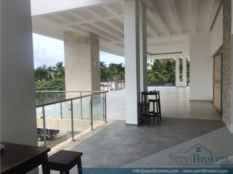 local aqluiler 72 m2 32 m2 terraza bavaro
