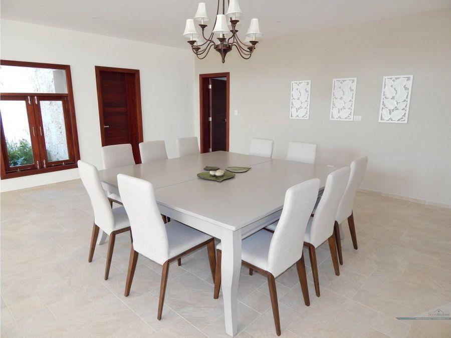 lujosa villa 5 hab cocotal bavaro punta cana
