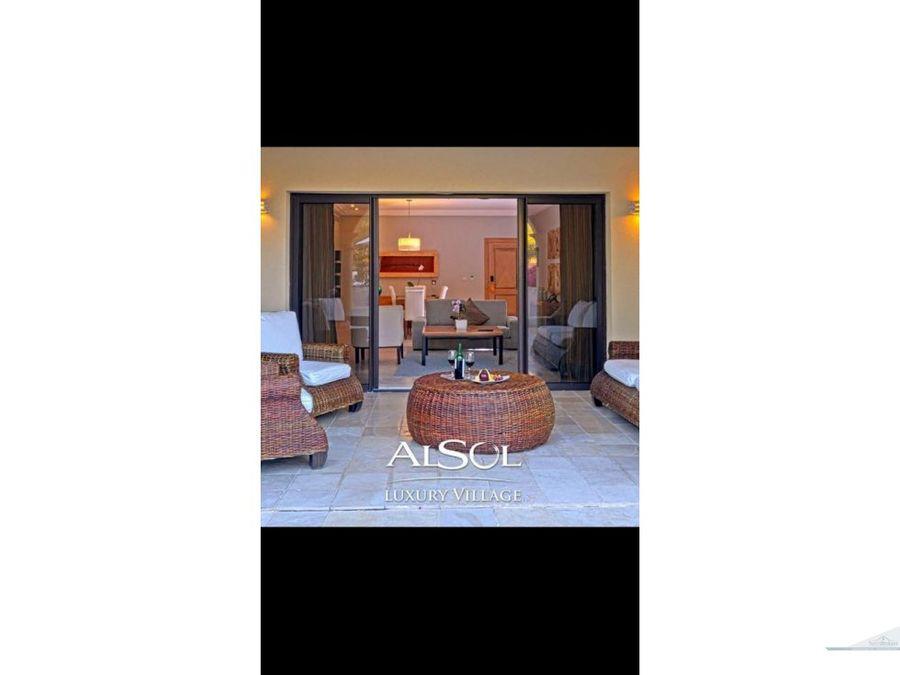 cap cana luxury 3 bedroom condo for rent