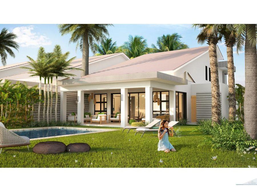 villa de 3 habitaciones en punta cana