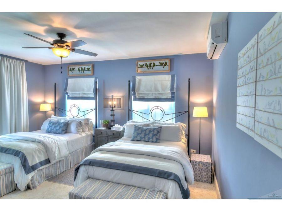 villa en venta 4 habitaciones hacienda punta cana