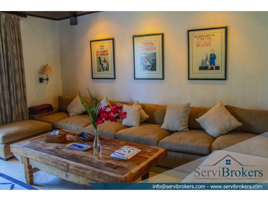 villa 5 habitaciones tortuga bay punta cana resort