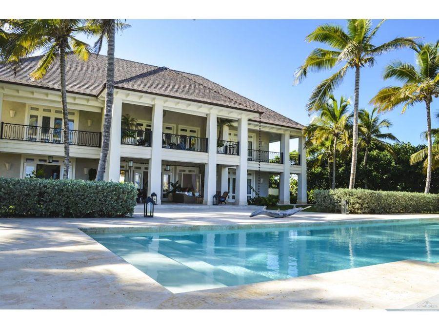 lujosa villa 7 habitaciones punta cana resort