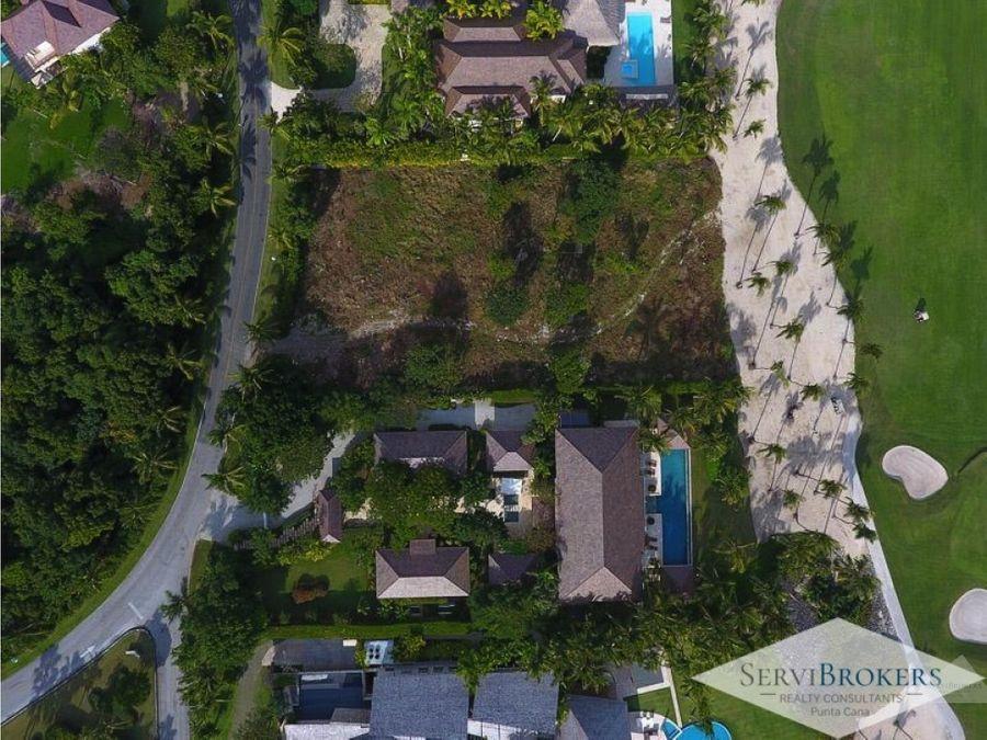 de oportunidad terreno frente al mar punta cana resort