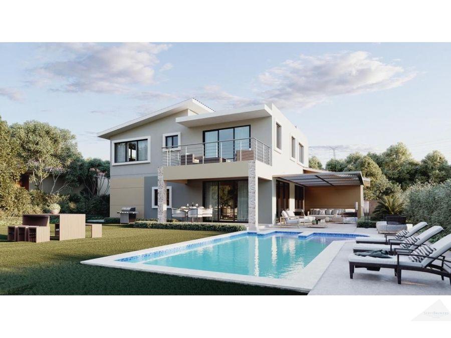 punta cana punta cana west village 4 hab villa con piscina