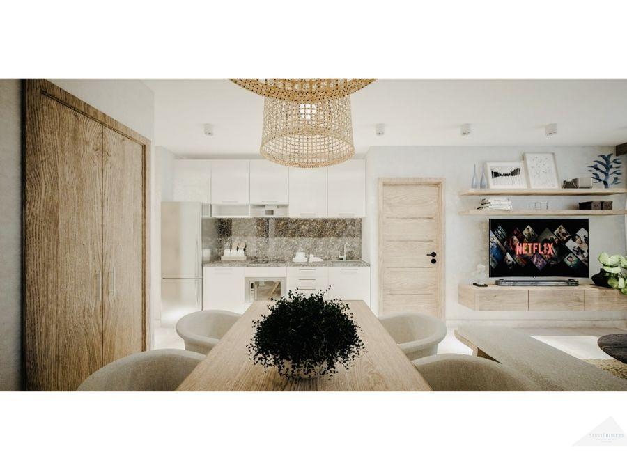apartamento 1 2 y 3 habitaciones en venta bavaro punta cana
