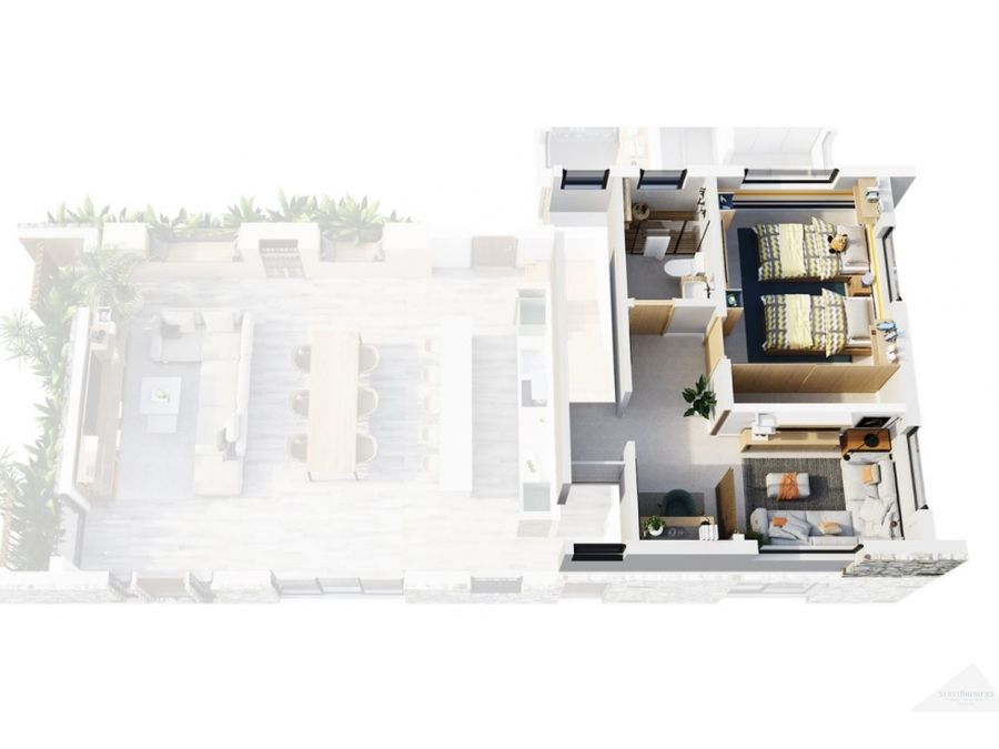 punta cana villa en venta 3 habitaciones residencial ecuestre
