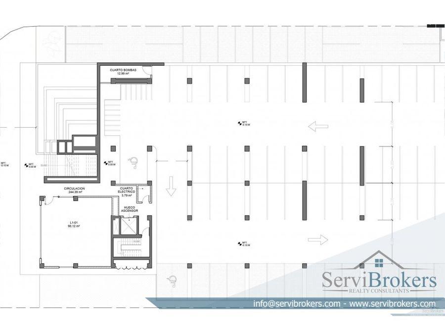 oficina alquiler 110 m2 punta cana village