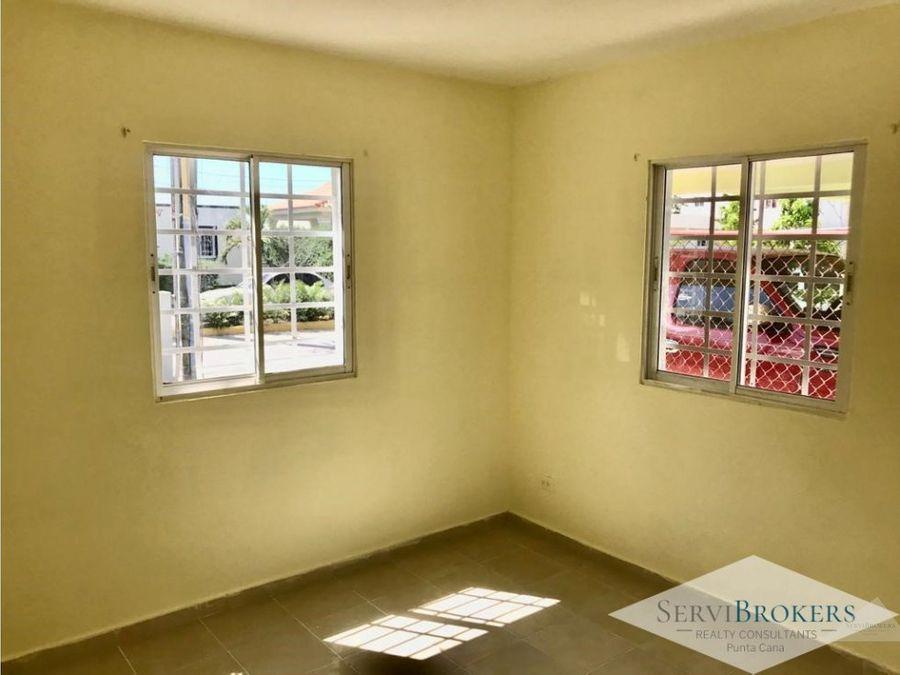 renta comoda casa 3 habitaciones 2 banos ciudad del sol punta cana