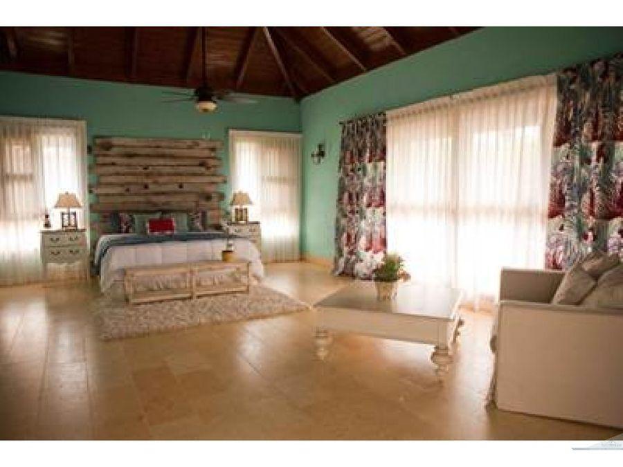 espectacular villa de lujo cap cana 4 hab 4 banos
