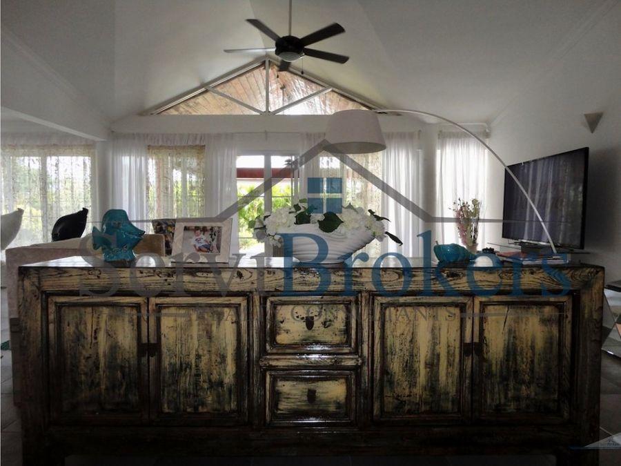 espaciosa villa 3 hab cocotal punta cana