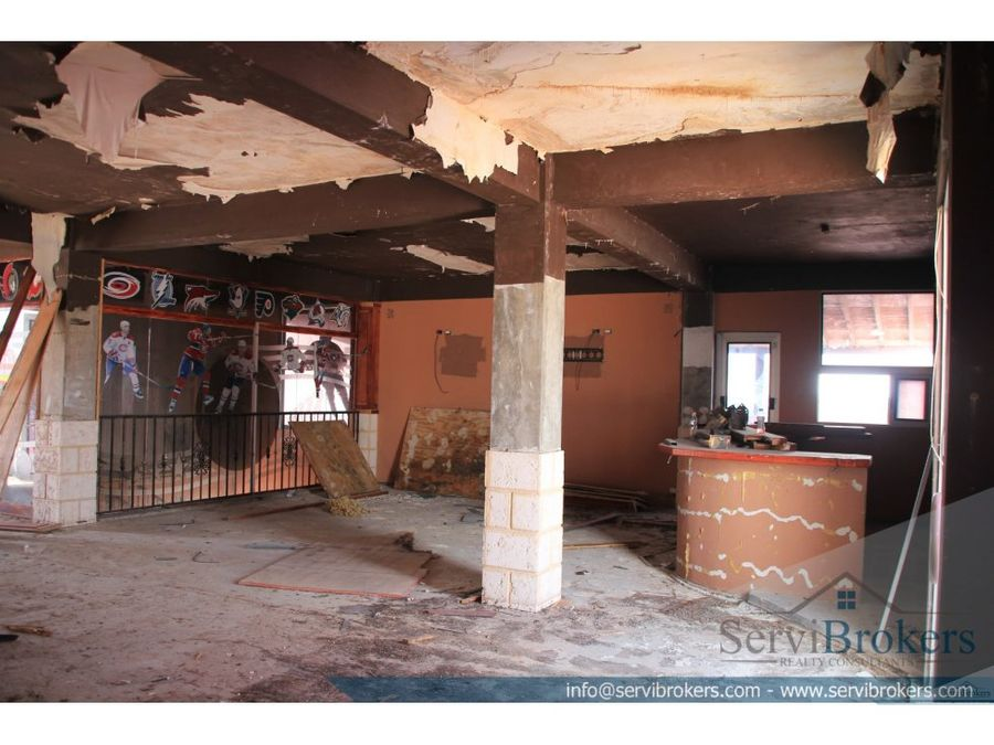 local comercial 641 m2 friusa bavaro punta cana