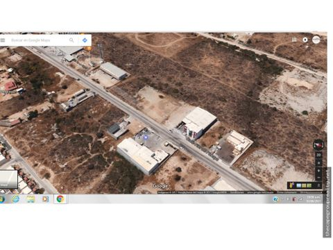 lote 124976 m2 uso industrial