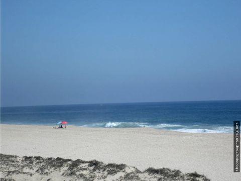 lote frente de playa 1100m2 todos santos