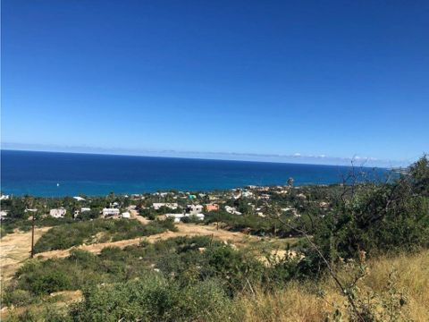terreno buenavista 400m2 vista al mar