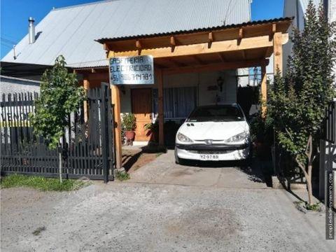 casa en villa los almendros en curico