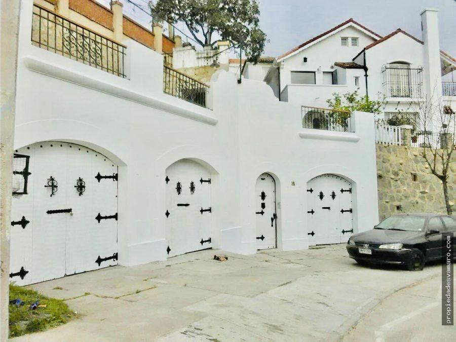 casa en venta en recreo en vina del mar