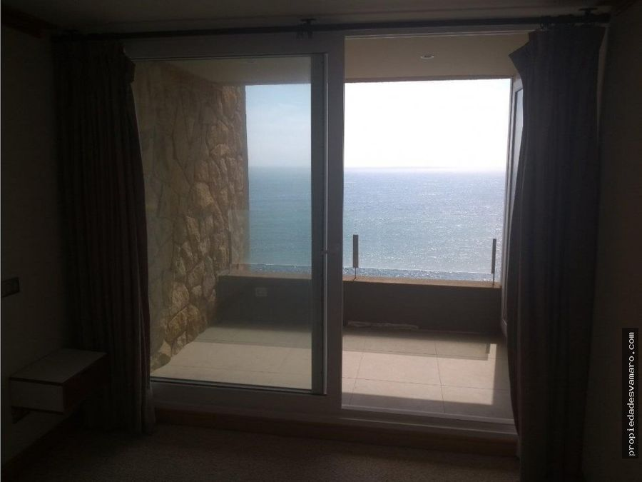 departamento con vista al mar en concon