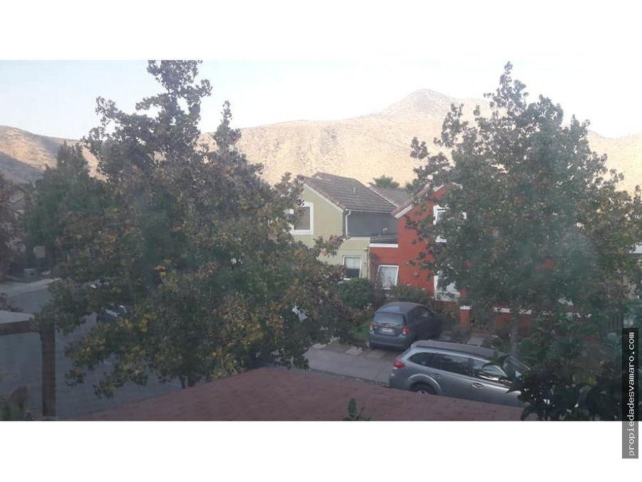se vende casa en condominio en avda pedro fontova en huechuraba