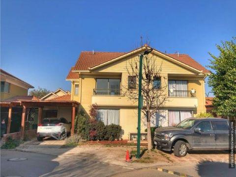 casa en condominio en ciudad satelite en maipu