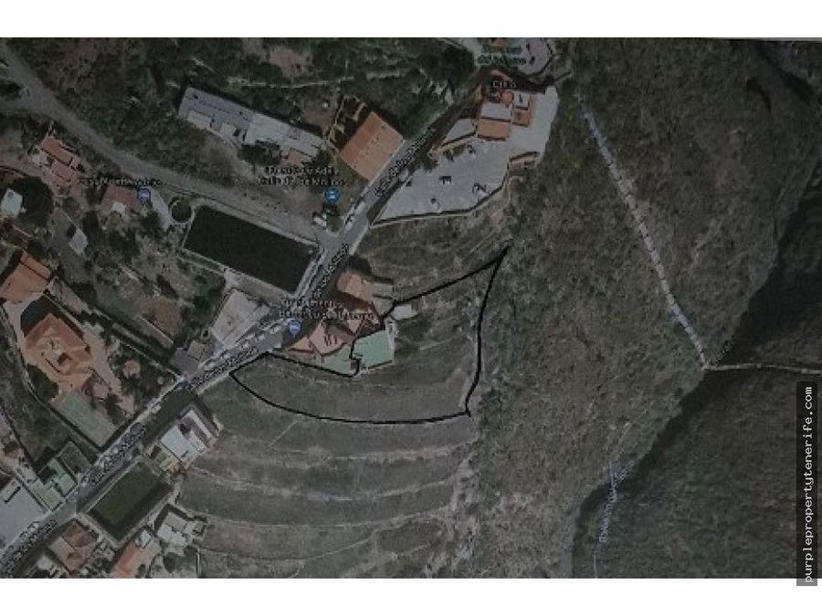 venta terreno urbanizable adeje tenerife