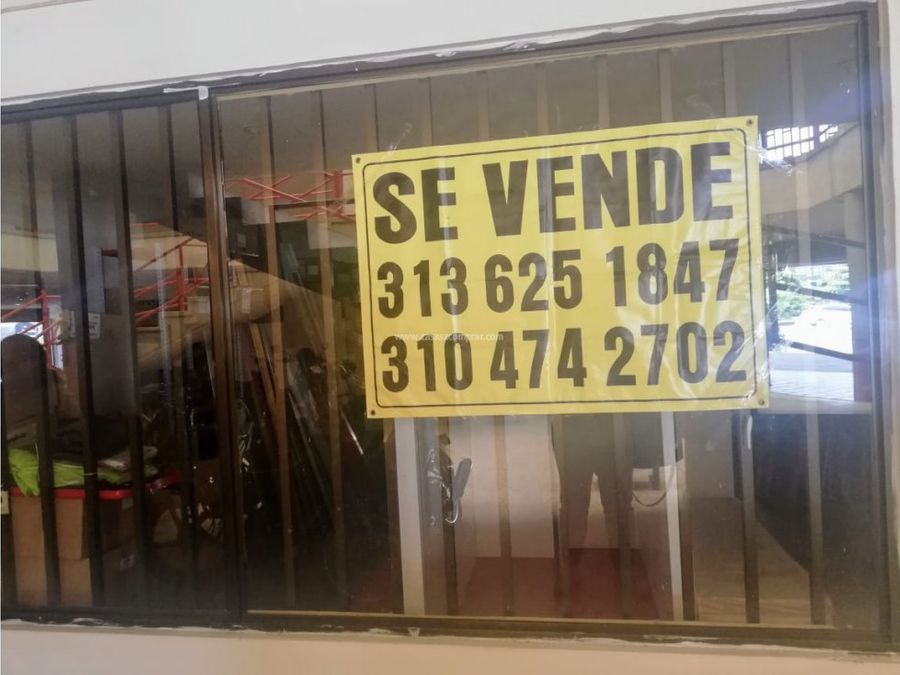 vendo local en centro comercial de cali