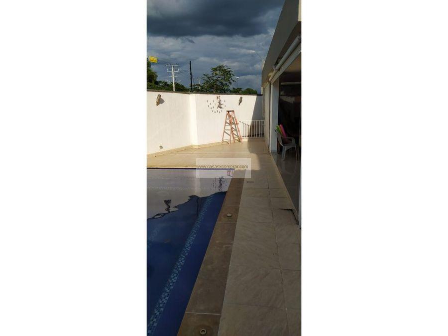 venta casa campestre esquinera con piscina hacienda el castillo