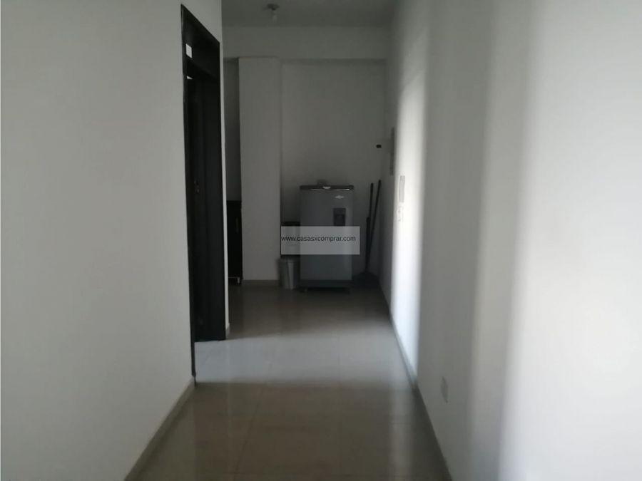 vendo aparta estudio piso 4 en edificio campus en pance