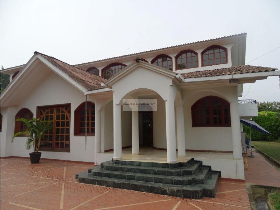 vendo casa espectacular en la viga pance sur de cali