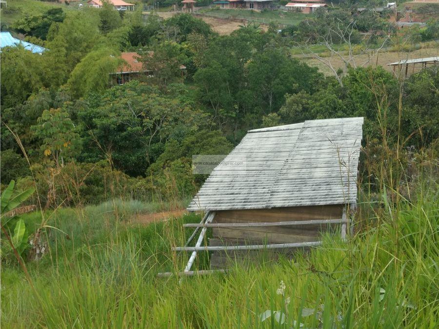 vendo lote con cimientos en hacienda de potrerito jamundi