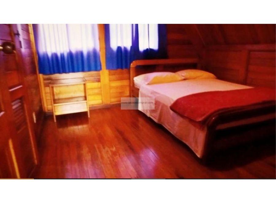 venta de cabana en condominio campestre en el lago calima