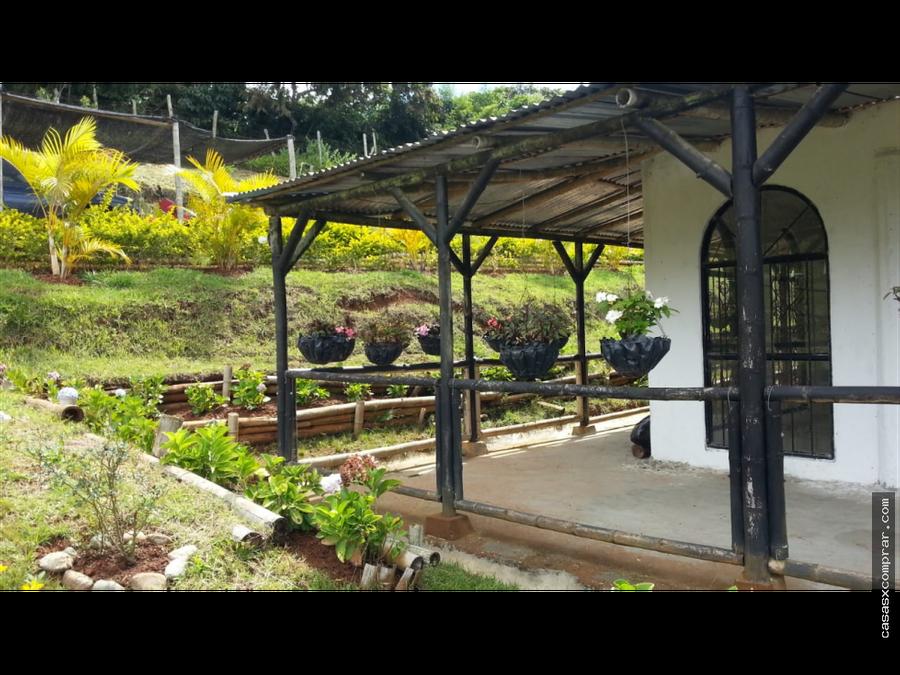 vendo casa campestre en pavas