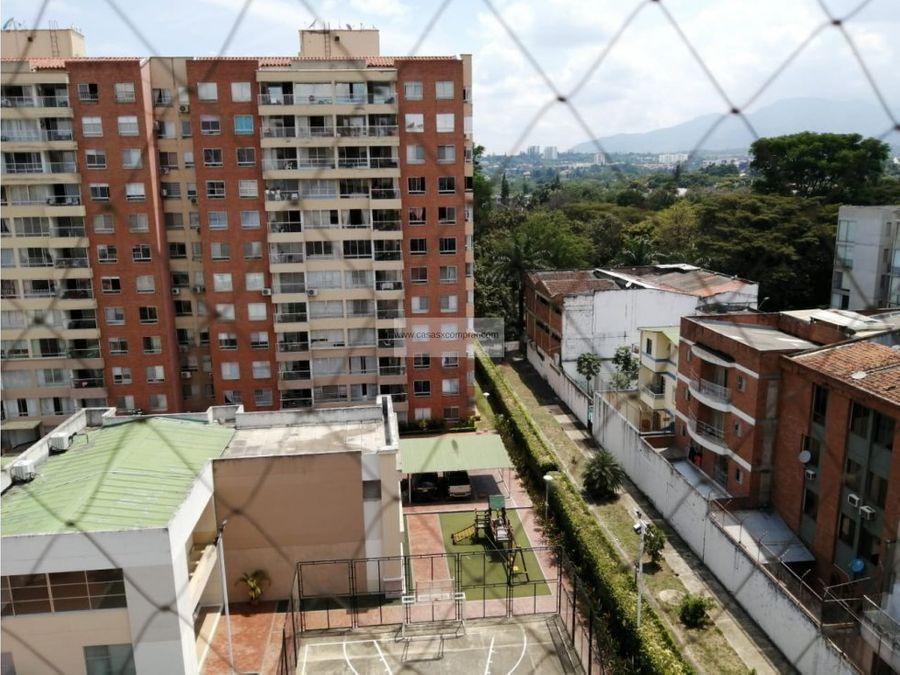 vendo apartamento en ciudad jardin al sur de cali
