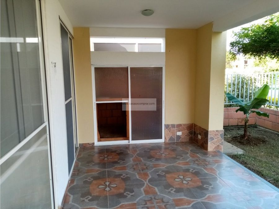 vendo casa campestre de 1 nivel en hacienda castillo jamundi