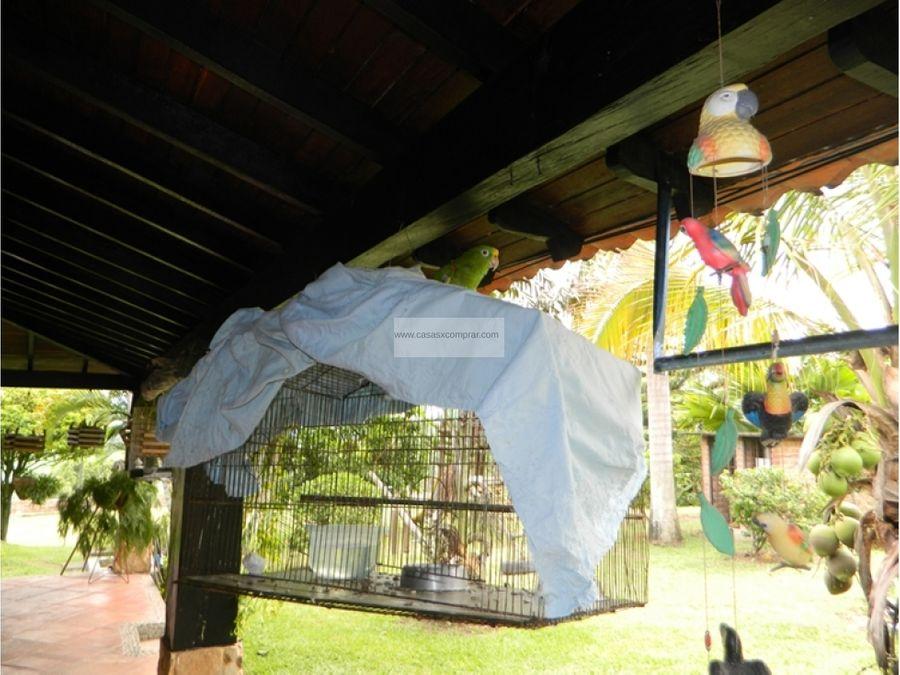 venta de hermosa casa campestre en buga vereda el vinculo
