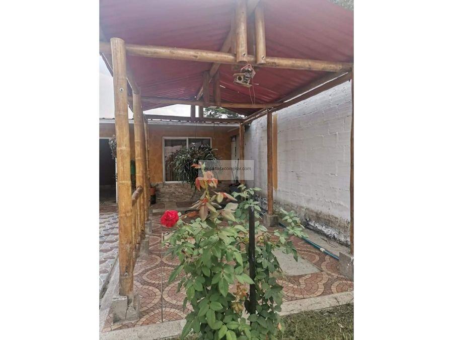 casa campestre tablones